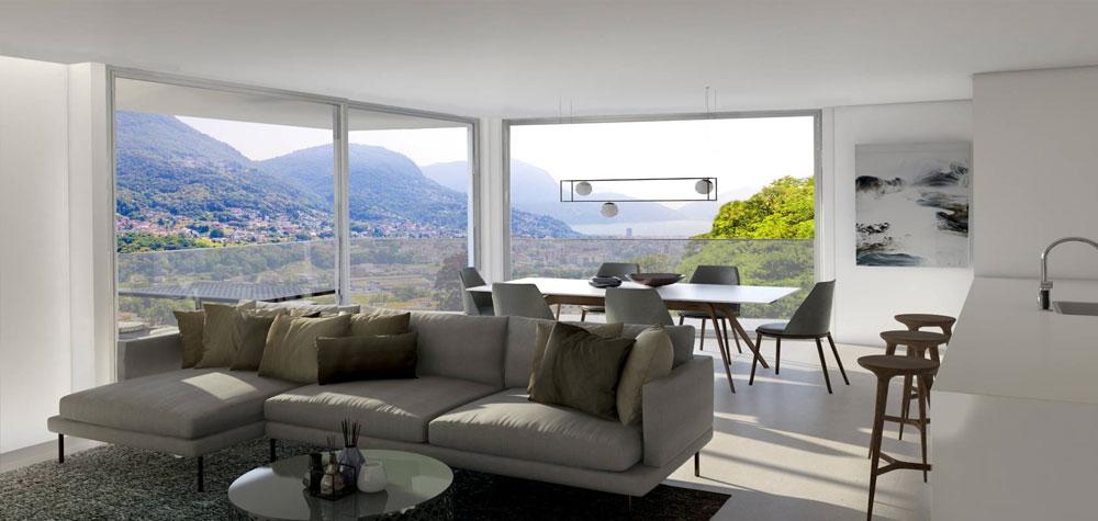 Edilizia residenziale ed appartamenti di lusso in Ticino