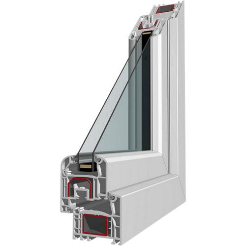Serramento in PVC e Alluminio a 5 camere